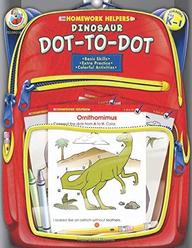 Dinosaur Dot-to-Dot, Grades PK - 1 (Homework Helper): Frank ...