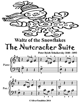 Waltz Of The Snowflakes The Nutcracker Suite Beginner Piano