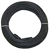 Solar Panel Cable 100 Ft - Mc4 Pv Extension- 10 AWG - 1000vdc- Pv Wire - Sunlight Resistant by Multi-Contact