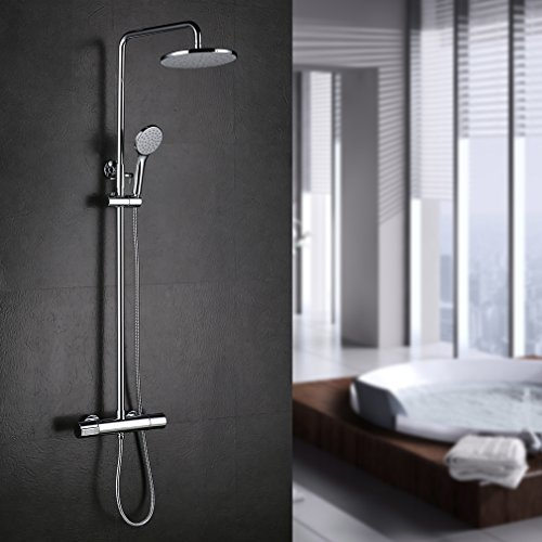 Thermostatic Shower Mixer Set - 2