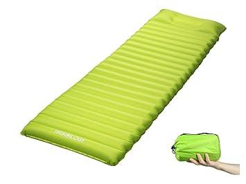 Trekology Esterilla Inflable para Dormir, colchonetas de Camping para Dormir: con Bomba de Aire