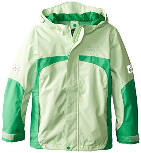 Sorbet Green (Jack Wolfskin Girl's Topaz Texapore Jacket, Green Sorbet, 128)