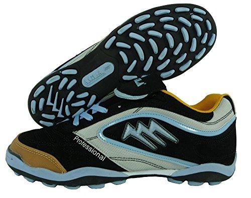 AGLA , Chaussures pour homme spécial foot en salle NERO CELESTE 24.5