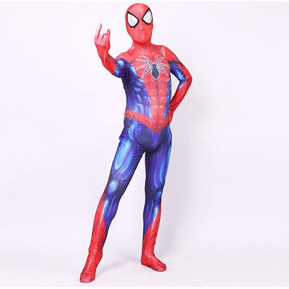 Enfant X-grand WSX Cosplay VêTeHommests Nouvelle Variante Spider-Man Cosplay Joue Costume VêteHommests Lycra Stretch Collants Imprimés Numériques Costume Anime Enfants Adultes Cosplay VêTeHommests,Enfant-L