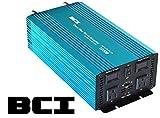 BCI 1000 Watt Pure Sine Wave Inverter / 12VDC to 110VAC