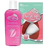 DivaCup Model 0 Menstrual Cup Starter Kit