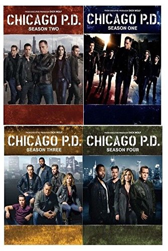Studio1 Chicago PD: The Complete Series Seasons 1-4 DVD NEW 1 2 3 4 by Studio1