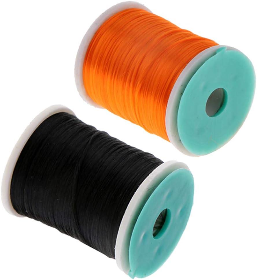 2pcs High Quality PE 210 Denier Fly Tying Threads DIY Fly Tying Materials