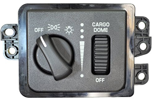 Price comparison product image PT Auto Warehouse HLS-2902 - Headlight Switch - with Cargo Light,  without Fog Lights