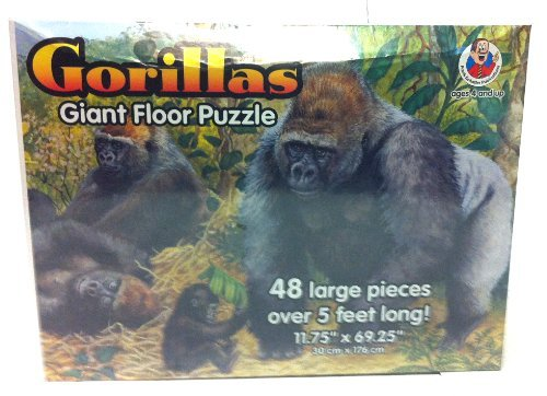 Gorillas Giant Floor Puzzle