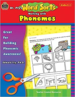 Dr. Fry's Word Sorts: Working With Phonemes, Grade 2