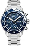 IWC Aquatimer Chronograph Automatic Blue Dial Mens Watch 3767-10
