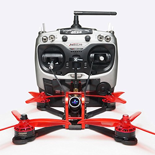 ARRIS X210S 210MM 5″ RC Quadcopter FPV Racing Drone RTF W/Radiolink AT9S Transmitter + Flycolor 4-in-1 Tower + Foxeer Arrow Mini Pro Camera + VT5804 V2 VTX