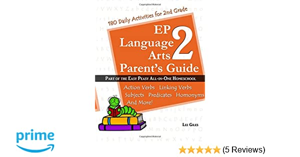 Ep Language Arts 2 Parents Guide Part Of The Easy Peasy All In One