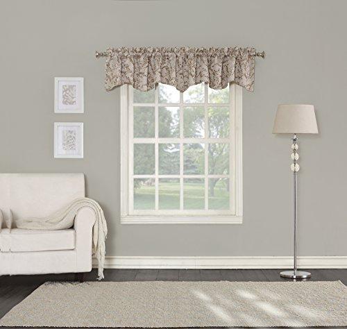 - Sun Zero Kadia Floral Blackout Lined Back Tab Curtain Panel, 50