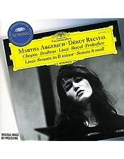 Martha Argerich: The Debut Recital: Liszt Sonata in B Minor