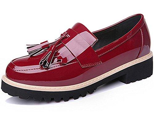 Frühjahr und Herbst Damen Schuhe Casual Schuhe in der Runde mit der Head of Damen Schuhe Füße Damen Schuhe, US8/EU39/UK 6/CN39