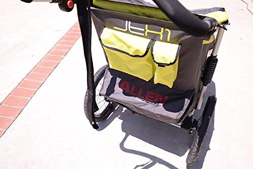 Allen Sports JTX-1 Trailer/Swivel Wheel Jogger, Green by Allen Sports (Image #7)