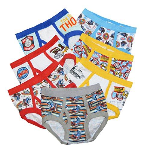 Handcraft Little Boys 'Thomas & Friends 7 Pack Underwear Brief (4T, White/blue/multi)