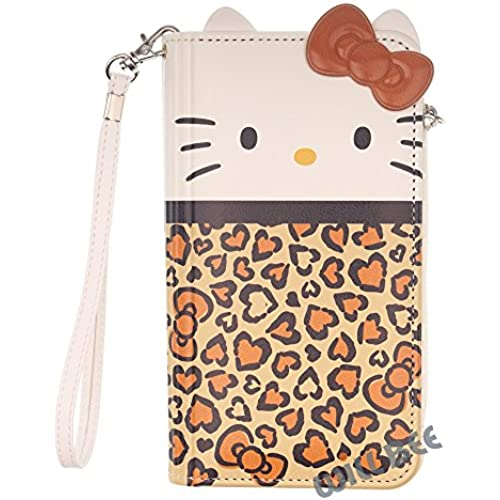 Samsung Galaxy S7 Edge Case HELLO KITTY Cute Diary Wallet Flip Synthetic Leather Anti-Shock Cover (Wallet Body Brown (Galaxy S7 Edge)) Sales