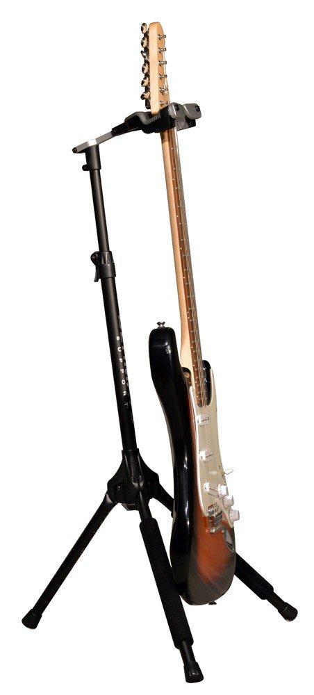 Ultimate GS-1000 PRO - Soporte para guitarra con altura ajustable, color negro: Amazon.es: Instrumentos musicales