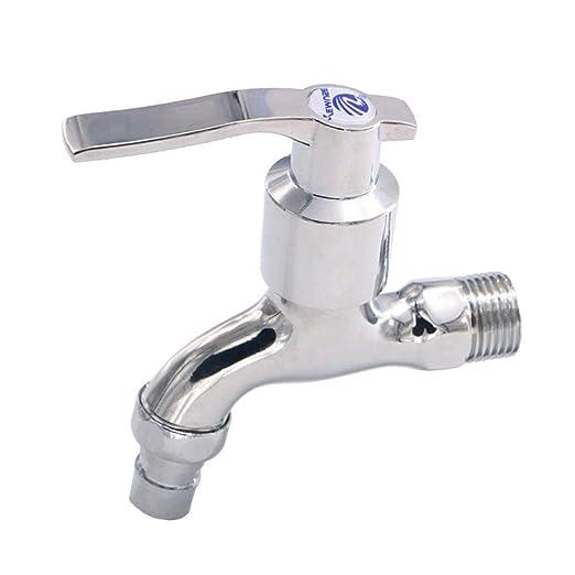 DOMOUDOWashing machine faucet_Zinc aleación lavadora faucet Rápido ...