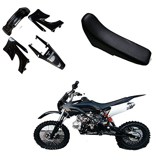 Plastic Fender for 125cc 150cc 250cc compatible with Apollo Orion Atomik Dirt Pit Bike With SEAT