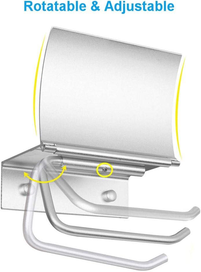 Bad Toilettenpapierhalter Ohne Bohren WC Rollenhalter Papierhalter Klopapierhalter Selbstklebend Klorollenhalter Klopapier Halterung WC Papier Halterung Wand Matt Metall mit Deckel Ablage Badezimmer