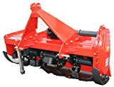 Farmer-Helper 4 foot Tiller Heavy Duty Cat.I 3pt 18+hp (FH-TL125) ~Adjustable Offset& SlipClutch Driveline