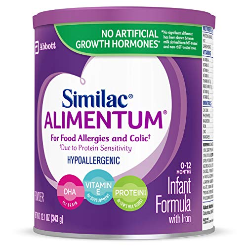 Similac Alimentum Hypoallergenic Infant Formula for Food Allergies and Colic, Baby Formula, Powder, 12.1 ounces (Pack of 6) by Similac (Image #10)