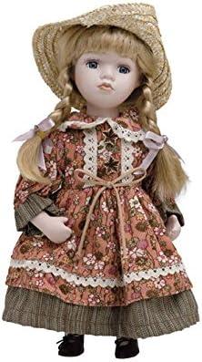 Muñeca de Porcelana de 30 cms con soporte