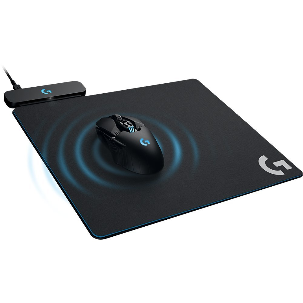 Logitech G Powerplay Wireless Charging System for G703, G903 Lightspeed Wireless Gaming Mice, Cloth or Hard Gaming Mouse Pad by Logitech (Image #1)