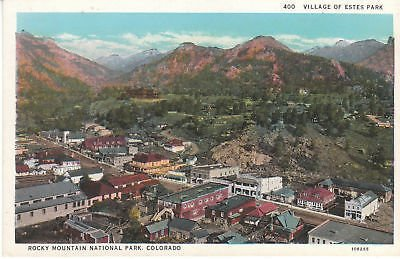 G3626 CO, Estes Park Rocky Mountain National Park Postcard