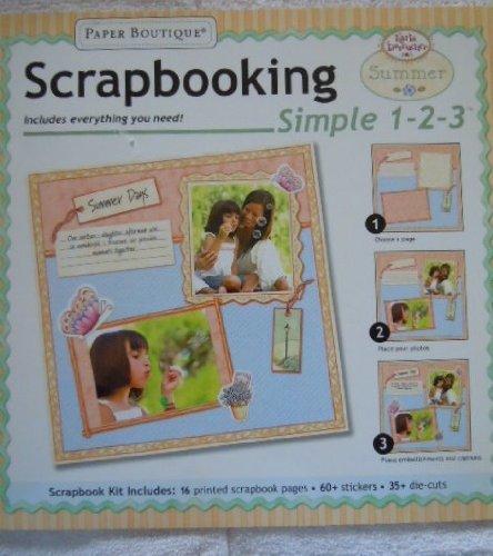 Karla Dornacher Scrapbooking Simple 1-2-3 Summer by Paper Boutique