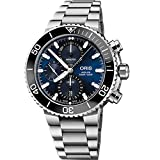 Oris Aquis Chronograph Blue Stainless Steel Men's Watch