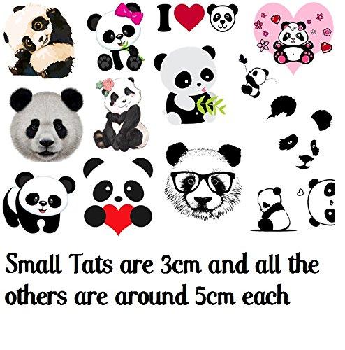 animal Temporary Tattoos collection Collezione di tatuaggi ...