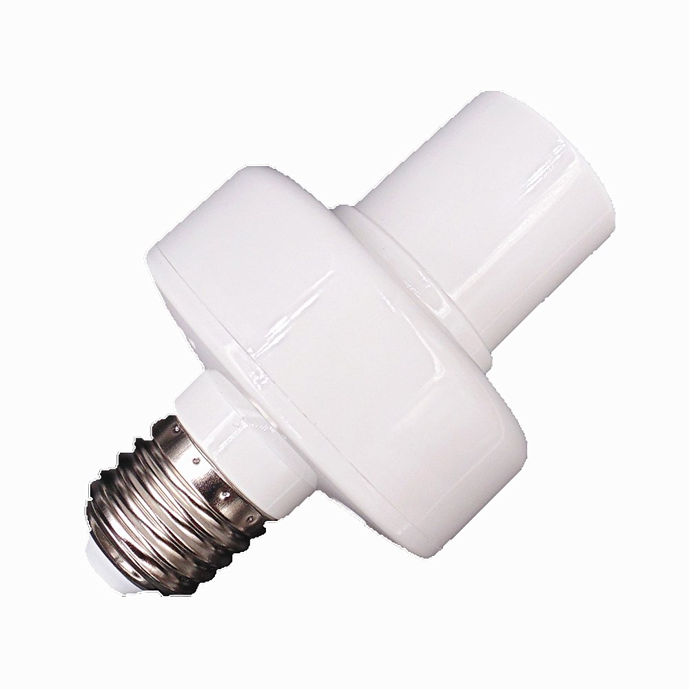 Light socket, HEANTTV sonoff smart wireless Light socket, wifi remote timer buld socket lamp holder for iphone Android