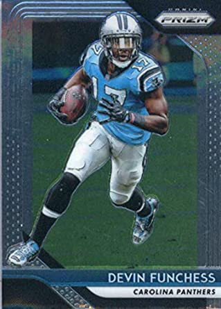 2018 Panini Prizm  171 Devin Funchess Carolina Panthers NFL Football  Trading Card f4899063f