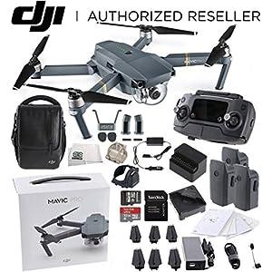 DJI Mavic Pro Fly More Combo Collapsible Quadcopter Drone Bundle 51bbTJqEGBL