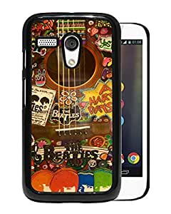 The Beatles Black Motorola Moto G Screen Phone Case Attractive and Fashion Design