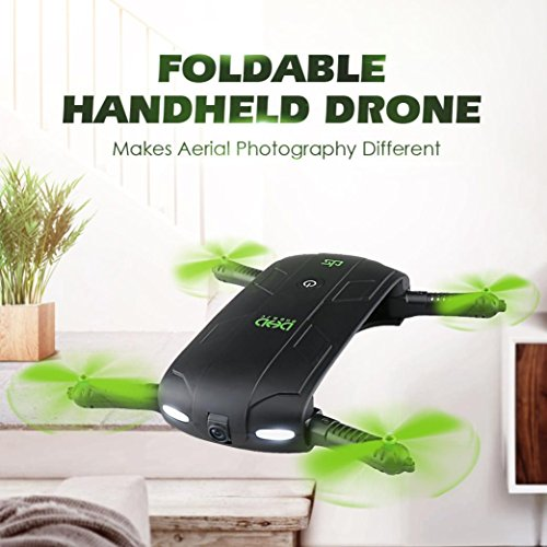 Leewa@ New DHD D5 Foldable 30W WiFi FPV Camera Altitude Hold Phone Control Quadcopter by Leewa