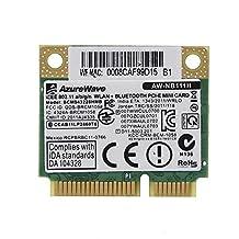 Broadcom BCM943228HMB/BCM43228 2.4Ghz /5Ghz Wireless 802.11A/B/G/N AND BT Bluetooth 4.0 Half MINI PCI-E WIFI Card
