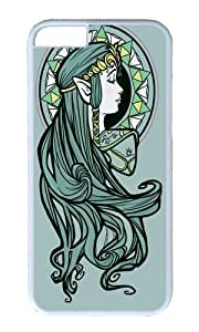 Apple Iphone 6 Case,WENJORS Adorable Zelda Nouveau Hard Case Protective Shell Cell Phone Cover For Apple Iphone 6 (4.7 Inch) - PC White