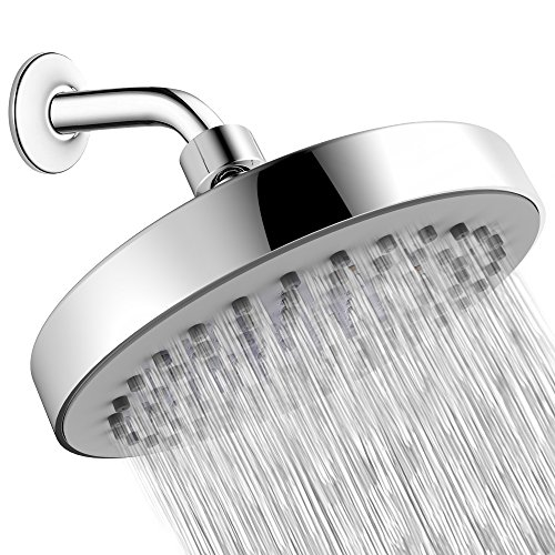Shower Head - High Pressure Rain - Luxury Modern Look - Easy Tool Free Installation - The Perfect Adjustable & Heavy Duty Universal Replacement For Your Bathroom Shower Heads by SparkPod (Image #7)