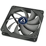 ARCTIC F12 PWM PST CO - 120 mm Case Fan with PWM Sharing Technology (PST), Dual Ball Bearing for Continuous Operation, Computer, Fan Speed: 230-1350 RPM