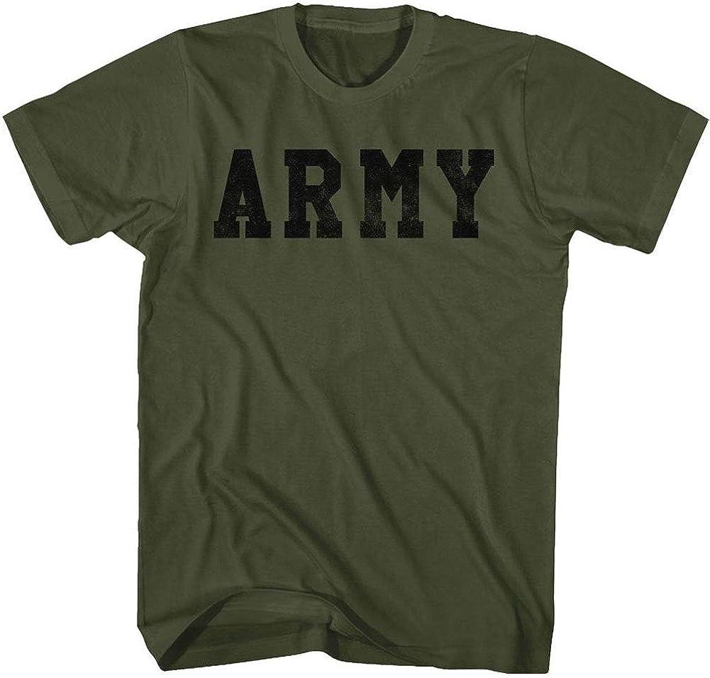 Camiseta de manga corta para adulto, diseño del ejército militar de los Estados Unidos: Amazon.es: Ropa y accesorios