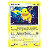 Raichu Lv.40 Mysterious Treasures # 15 Pokemon EX Holo Rare Cards [Toy]
