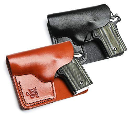 Talon Concealed Carry Wallet and Cargo Pocket Leather