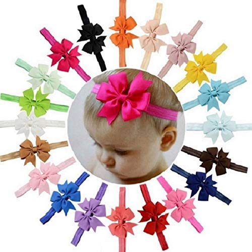 Baby Girls Headbands Bows Headwrap Turban Knotted Hair Band for Newborn,Toddler and Childrens