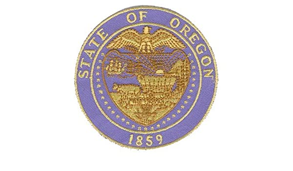 Amazon Com Military Patches Oregon State Seal Patch Automotive